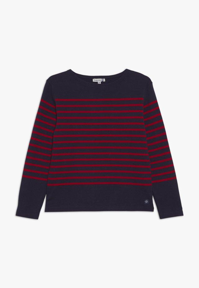 MARINIÈRE AMIRAL KIDS - Langærmede T-shirts - navire/braise