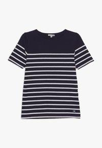 Armor lux - MARINIÈRE ETEL KIDS - Print T-shirt - navire/blanc - 0