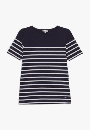 MARINIÈRE ETEL KIDS - Print T-shirt - navire/blanc