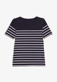 Armor lux - MARINIÈRE ETEL KIDS - Print T-shirt - navire/blanc - 1