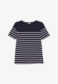 Armor lux - MARINIÈRE ETEL KIDS - Print T-shirt - navire/blanc - 2