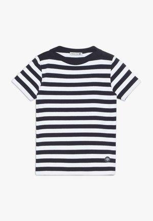 MARINIÈRE CARANTEC KIDS - Print T-shirt - navire/blanc