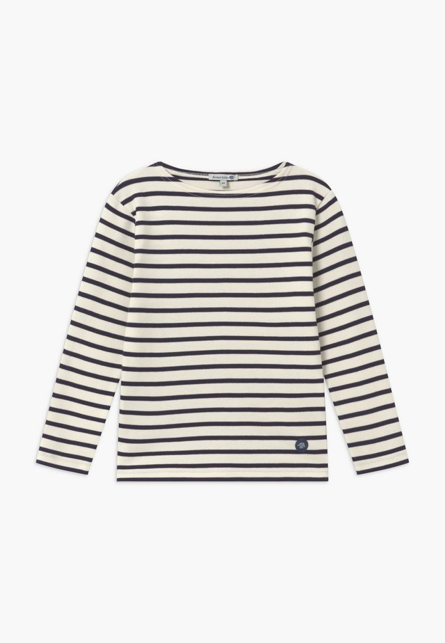 MARINIÈRE LOCTUDY - Long sleeved top - beige/blue