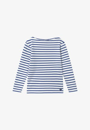 MARINIÈRE LOCTUDY - Top sdlouhým rukávem - royal blue/white