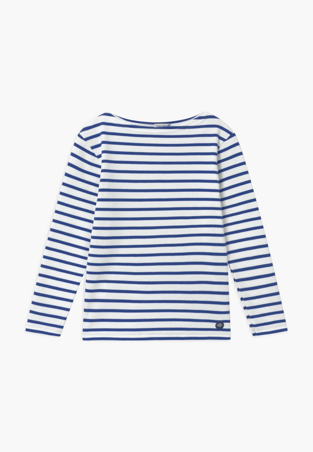 MARINIÈRE LOCTUDY - Long sleeved top - royal blue/white