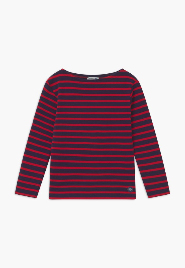 MARINIÈRE LOCTUDY - Long sleeved top - blue/red