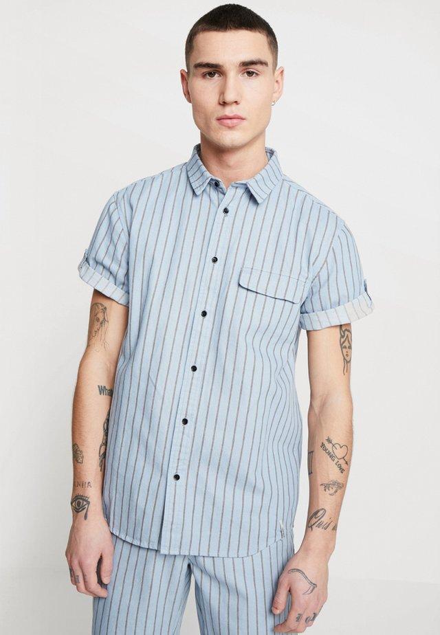 NICE - Shirt - light-blue denim