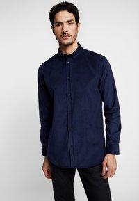 Anerkjendt - KONRAD - Camisa - dark blue - 0