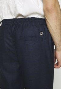 Anerkjendt - PANTS - Pantalones - dark blue - 4