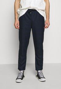 Anerkjendt - PANTS - Pantalones - dark blue - 0
