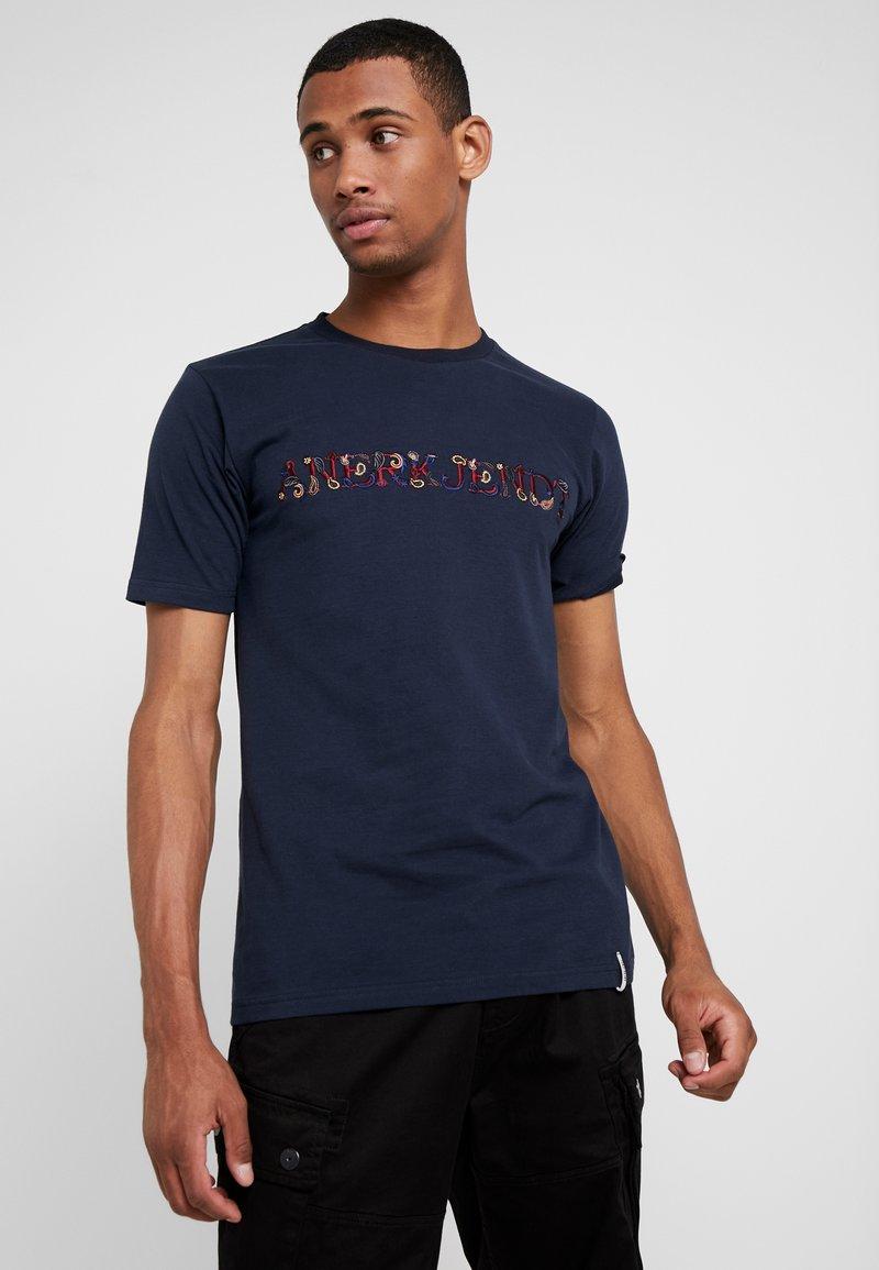 Anerkjendt - ROD - T-shirt - bas - sapphire