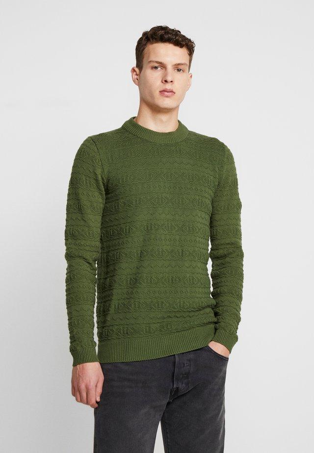 AKRICO  - Svetr - green