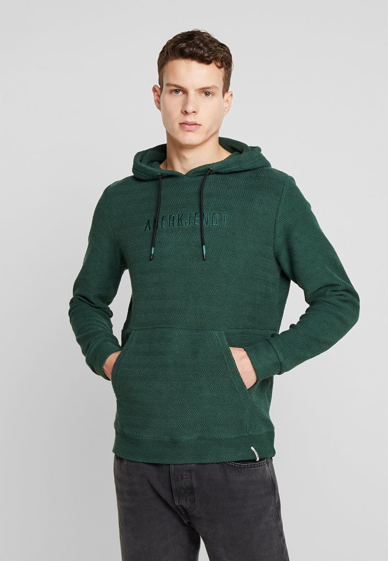 Anerkjendt - AKTHOMAS  - Jersey con capucha - green