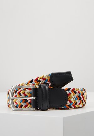 STRECH BELT - Braided belt - multicolor