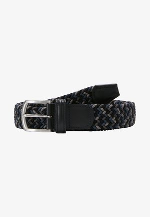 STRECH BELT - Cinturón trenzado - multicolor