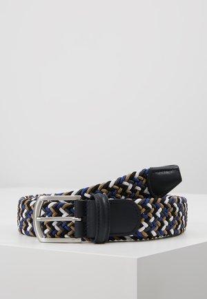 STRECH BELT - Pletený pásek - multi-coloured