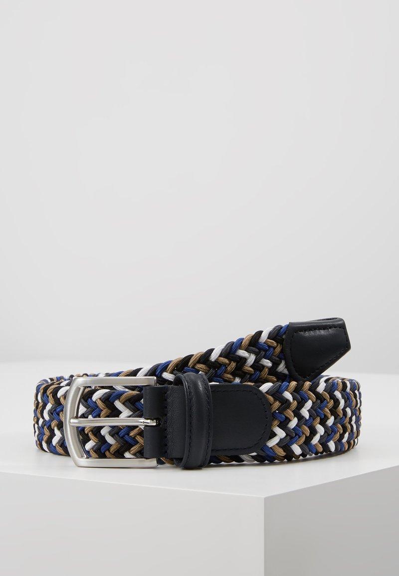 Anderson's - STRECH BELT - Pletený pásek - multi-coloured