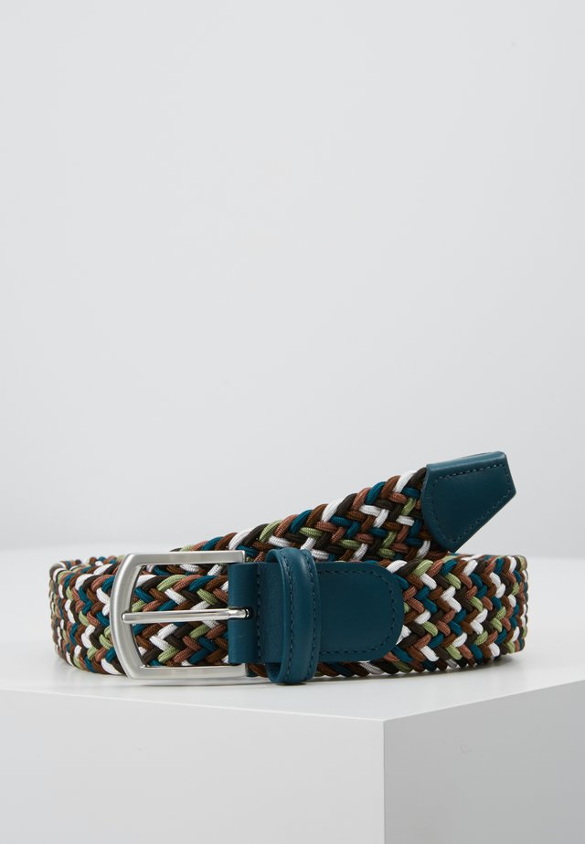 STRECH BELT - Gevlochten riem - multicoloured