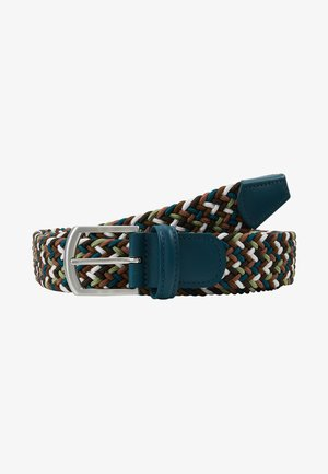 STRECH BELT - Cinturón trenzado - multicoloured