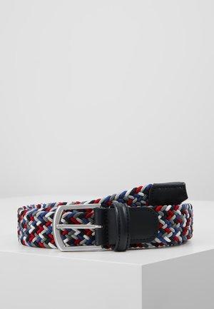 STRECH BELT - Braided belt - multi-coloured