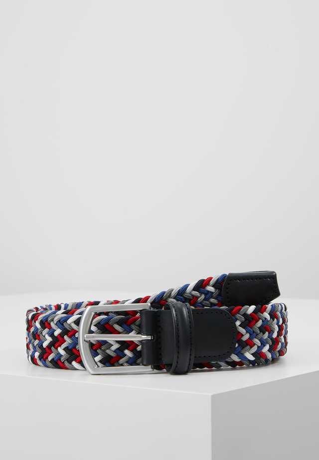 STRECH BELT - Braided belt - multi-coloured