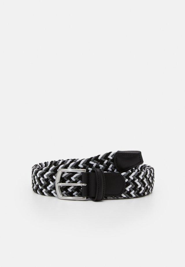 STRECH BELT UNISEX - Braided belt - grey