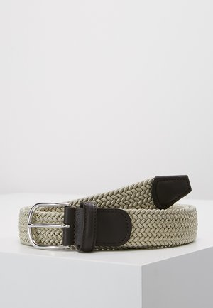 BELT - Braided belt - beige