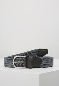 Anderson's - BELT - Pletený pásek - grey - 0