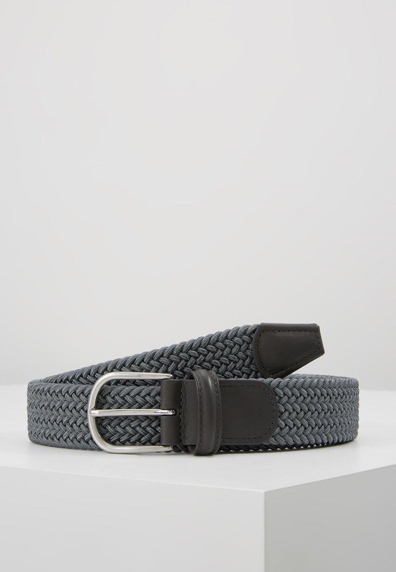 Anderson's - BELT - Braided belt - grey