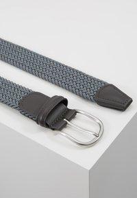 Anderson's - BELT - Pletený pásek - grey - 2