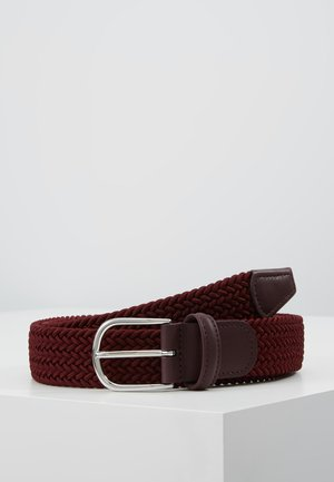 BELT - Fletbælter - bordeaux
