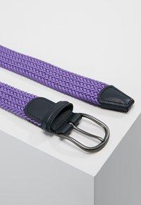 Anderson's - BELT - Braided belt - purple - 2