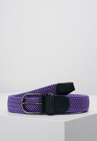 Anderson's - BELT - Braided belt - purple - 0
