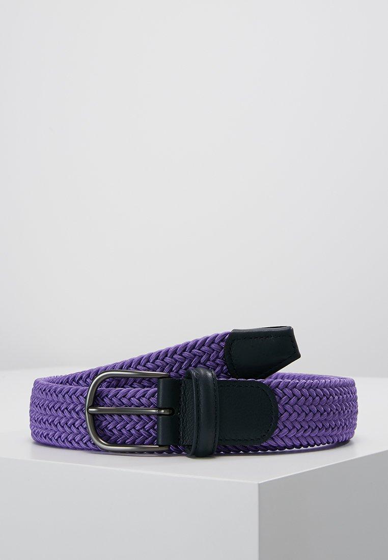 Anderson's - BELT - Braided belt - purple