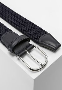 Anderson's - BELT - Pletený pásek - navy - 2