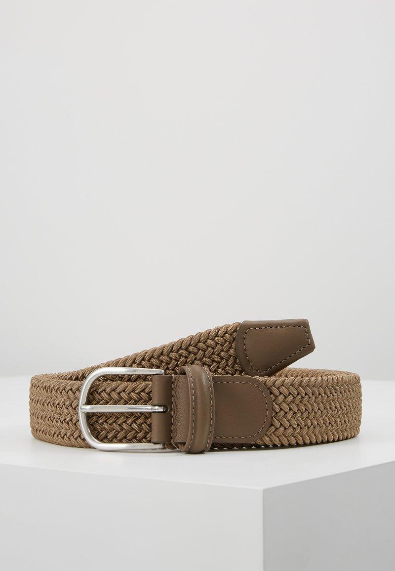 Anderson's - BELT - Flätat skärp - khaki