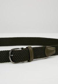Anderson's - BELT - Pletený pásek - olive - 5