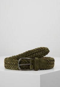Anderson's - BELT - Braided belt - olive - 0