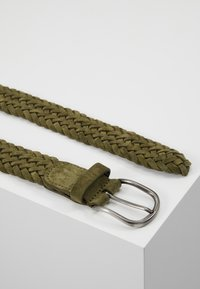 Anderson's - BELT - Braided belt - olive - 2