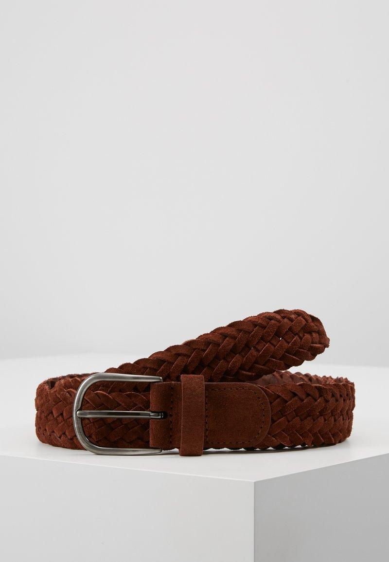 Anderson's - BELT - Pletený pásek - brown