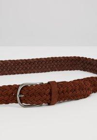 Anderson's - BELT - Pletený pásek - brown - 5