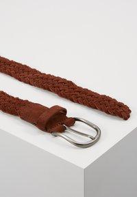 Anderson's - BELT - Pletený pásek - brown - 2