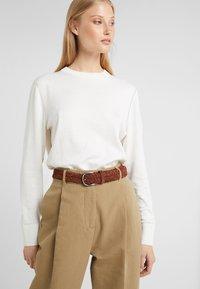 Anderson's - BELT - Pletený pásek - brown - 3