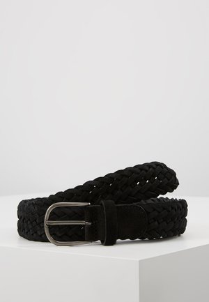 BELT - Pletený pásek - black