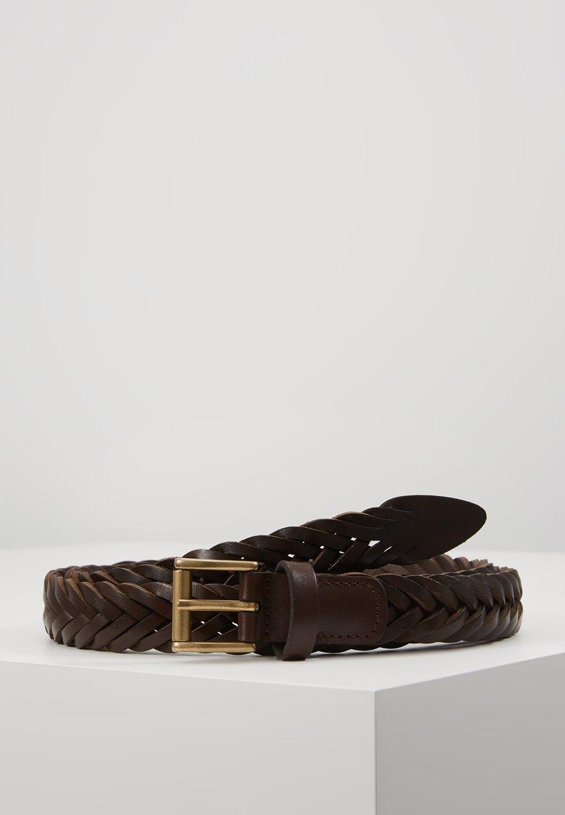 Anderson's - BELT - Palmikkovyö - dark brown