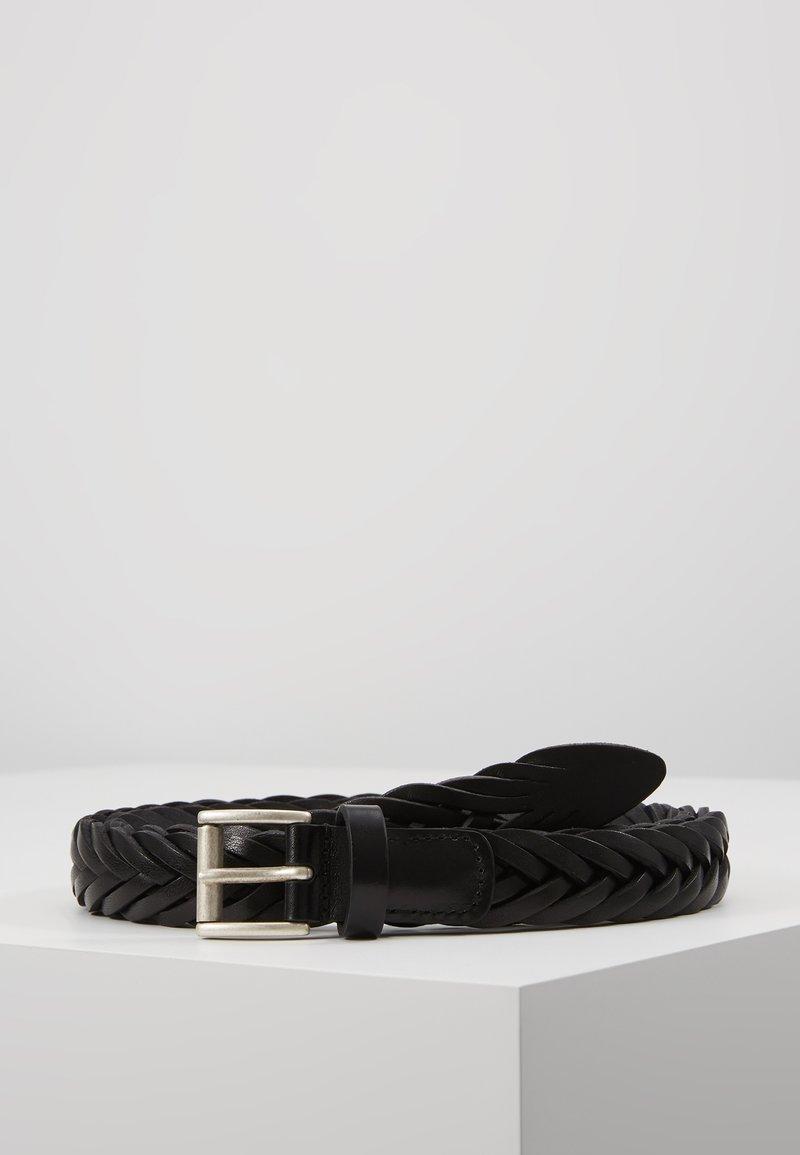 Anderson's - BELT - Flätat skärp - black
