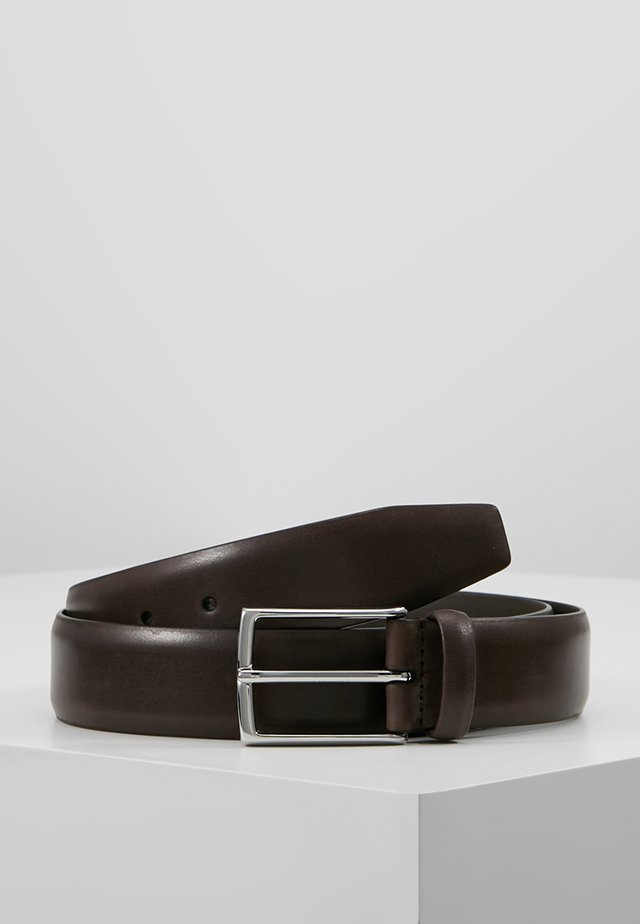 Belt business - dark brown