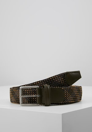 BELT - Braided belt - multi-coloured