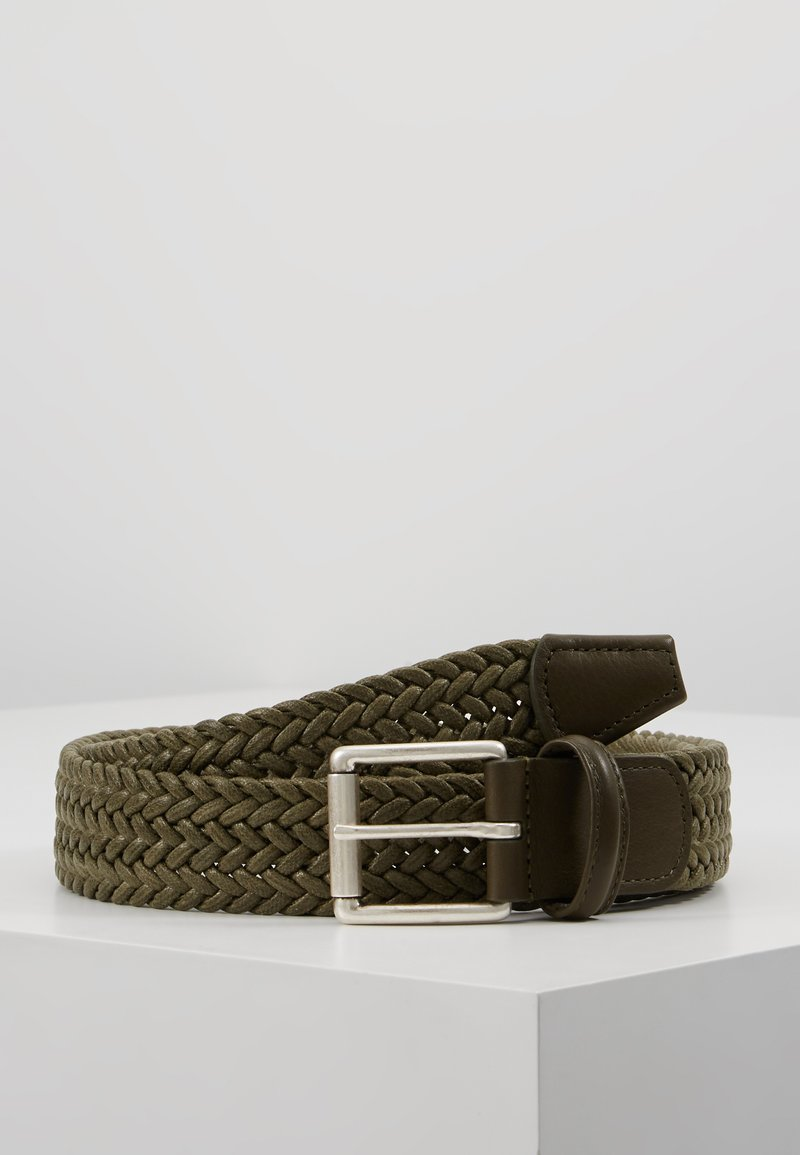 Anderson's - BELT - Braided belt - olive