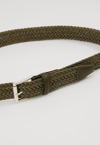 Anderson's - BELT - Braided belt - olive - 3